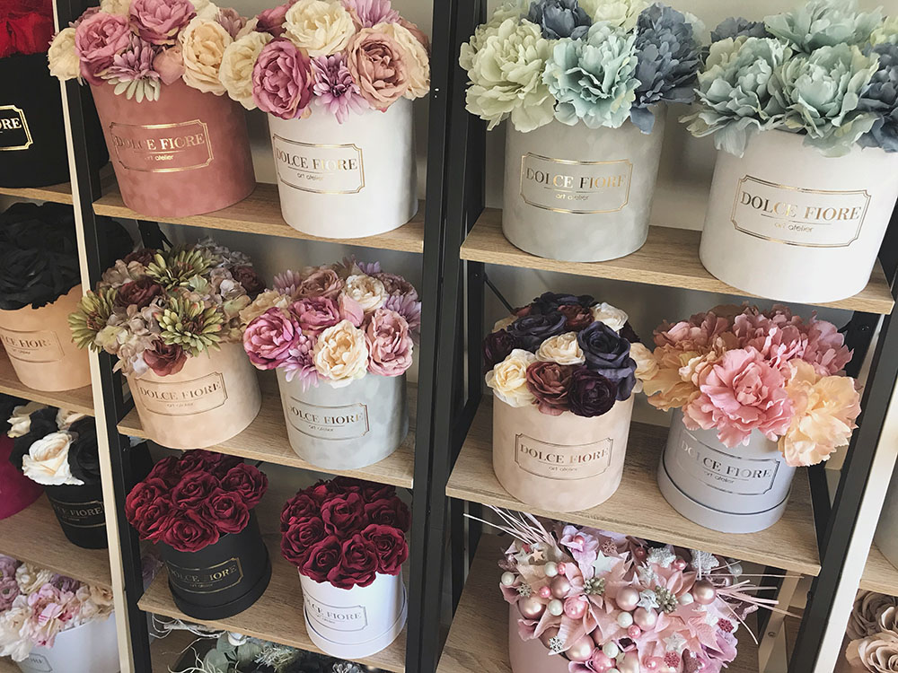 Dolce Fiore - Flower Boxes